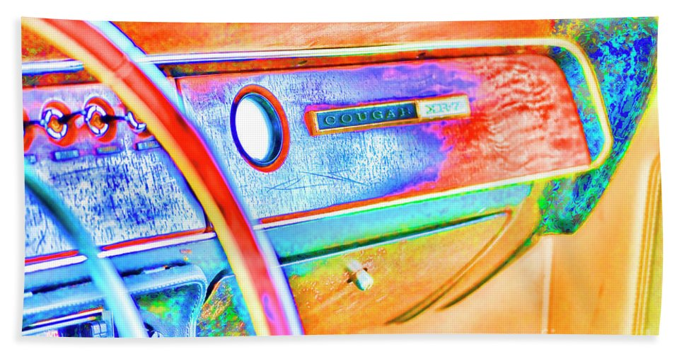 Cougar Beach Towel featuring the photograph Days Gone By by Traci Cottingham