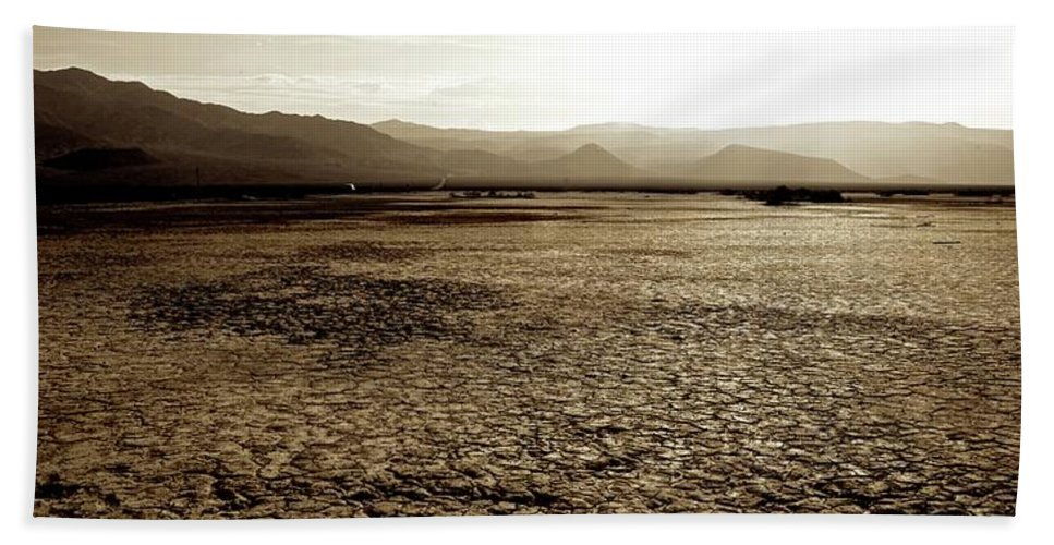 Death Valley Beach Towel featuring the photograph Death Valley California by Doug Rogahn Fine Art Photography