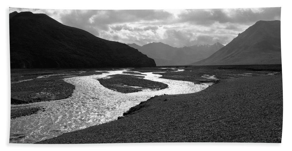 Alaska Beach Towel featuring the photograph Denali National Park 5 by Dick Goodman