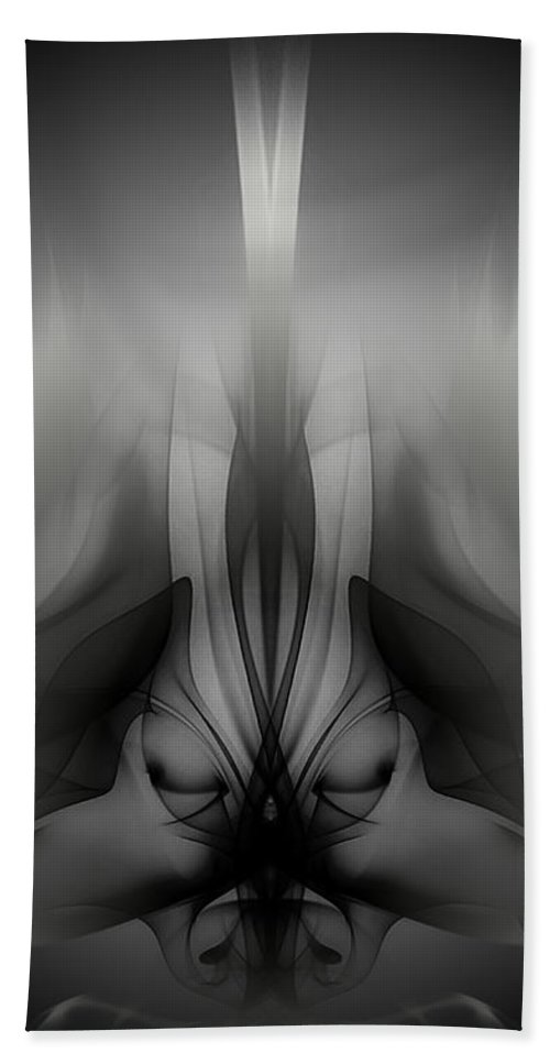 Clay Beach Towel featuring the digital art Descent by Clayton Bruster