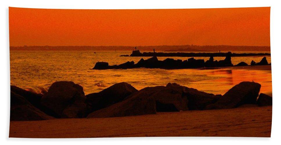 Landscape Beach Towel featuring the photograph Desert Skies by Kendall Eutemey