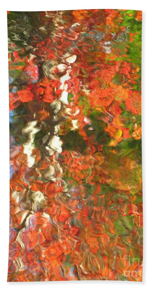Colorful Liquid Beach Towel featuring the photograph Delight by Sybil Staples