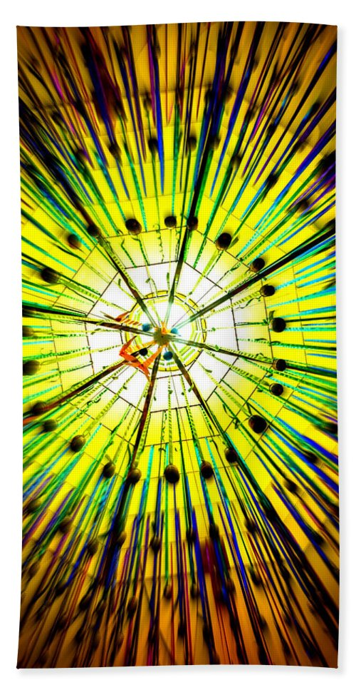 Star - Space Beach Towel featuring the photograph Diwali Lights 4 by Jijo George