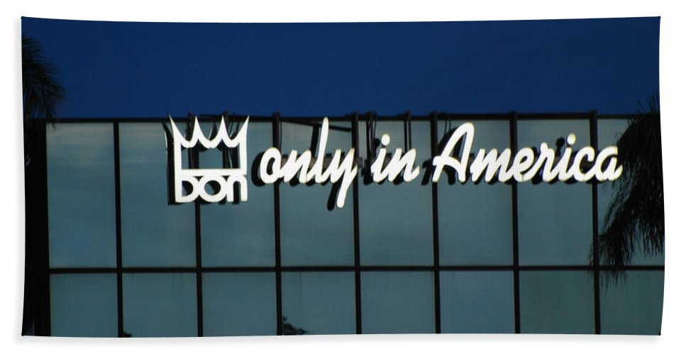 King Beach Towel featuring the photograph Don King Only In America by Rob Hans