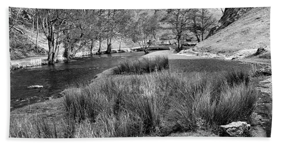 Dale Beach Towel featuring the photograph Dovedale, Peak District UK by John Edwards