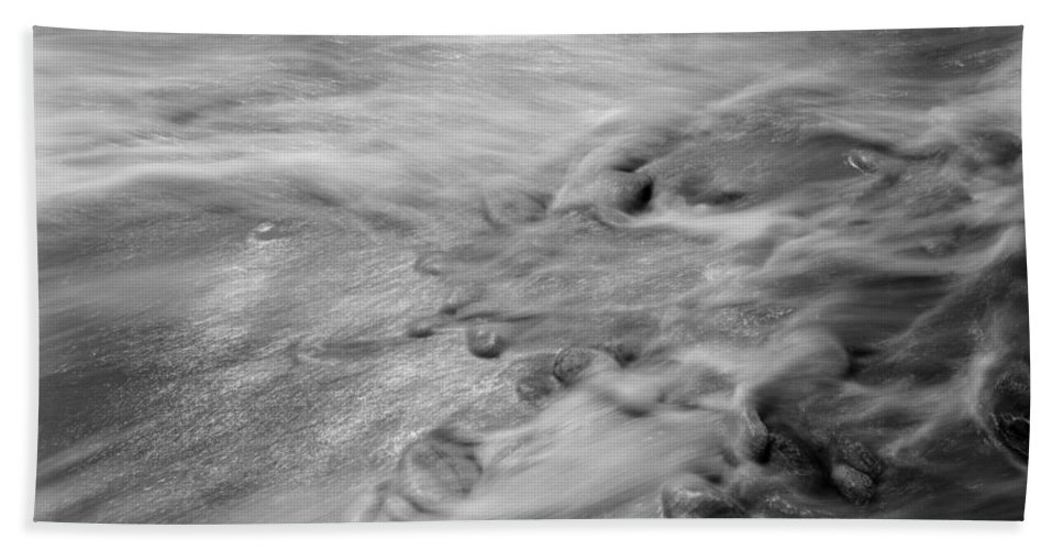 Tides Beach Towel featuring the photograph Dp Stone Impressions 27 by Gary Bartoloni
