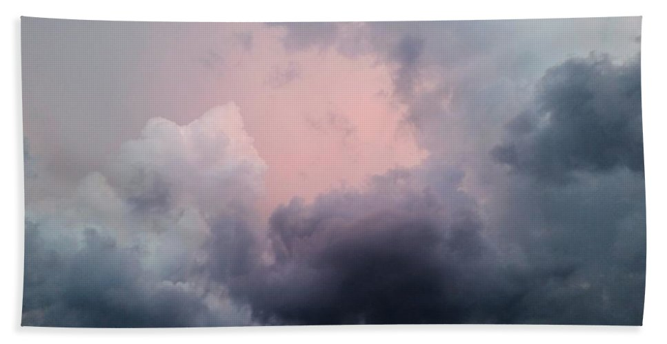 Storm Chasing Beach Towel featuring the photograph Dramatic Clouds by Ally White