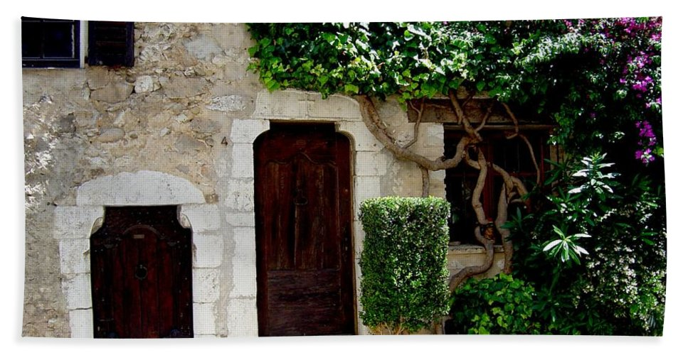 Italy European Home Doorways Beach Towel featuring the photograph Dream On by Joanne Smoley