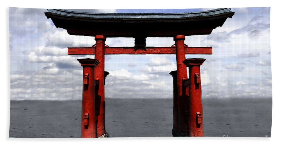 Japan Beach Towel featuring the photograph Dreaming In Japan by David Lee Thompson