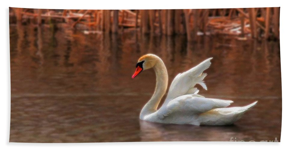 Wildlife Beach Towel featuring the photograph Dreamy by Lois Bryan
