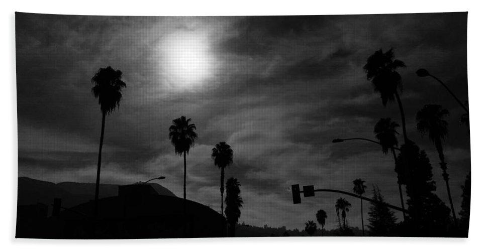 Moon Beach Towel featuring the photograph Dreamy Moon by Daniel Frey