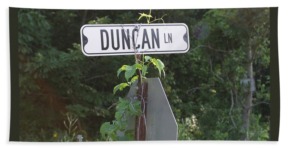 Rural Beach Sheet featuring the photograph Duncan Ln by Bjorn Sjogren
