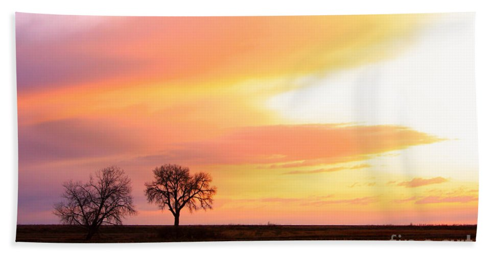 Sunrise Beach Towel featuring the photograph Easter Morning Sunrise by James BO Insogna