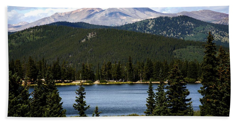Colorado Beach Sheet featuring the photograph Echo Lake Colorado by Marilyn Hunt