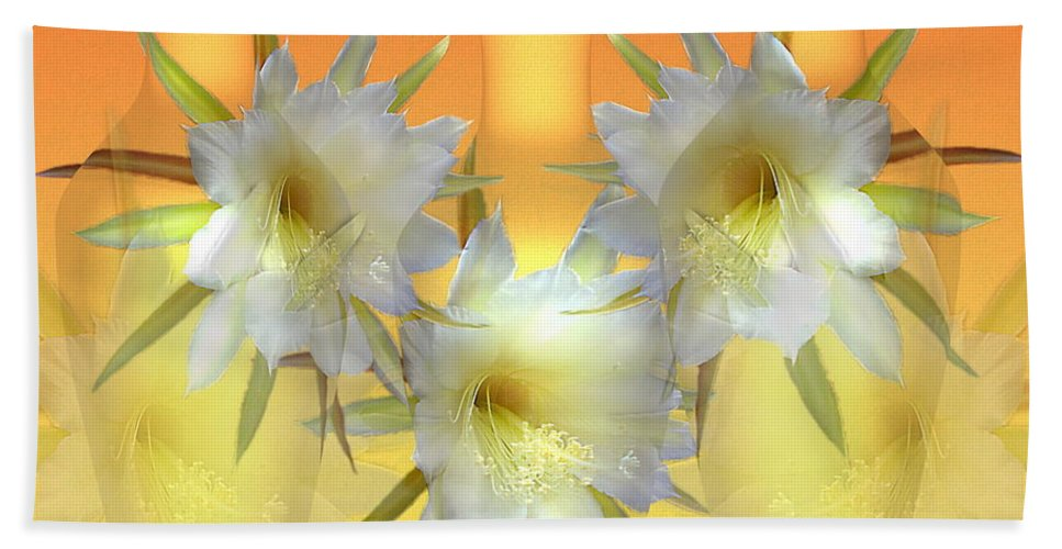 Cacti Beach Towel featuring the photograph Elegant Beauty by Joyce Dickens