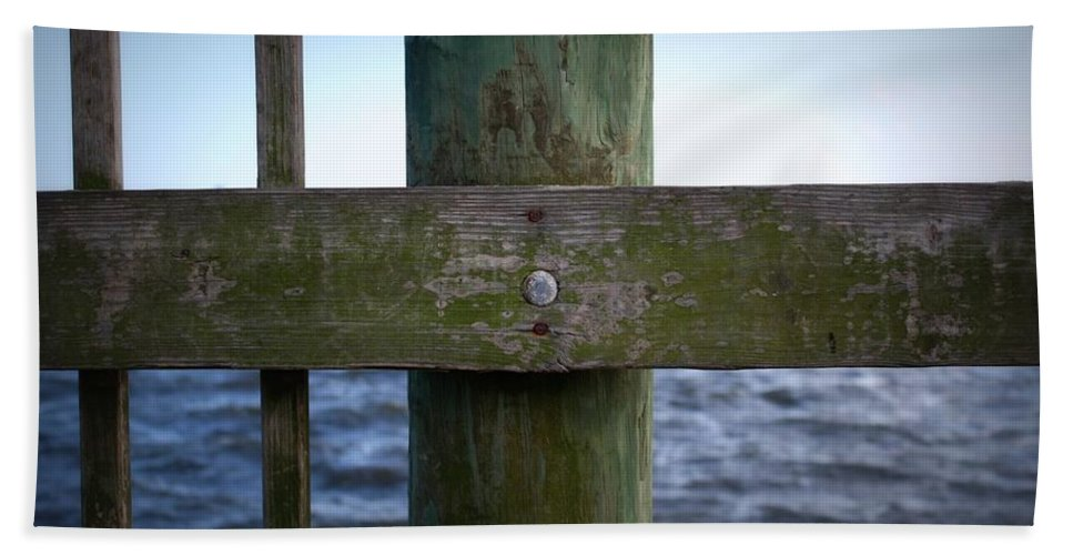Wood Beach Towel featuring the photograph Elements by Mandy Shupp
