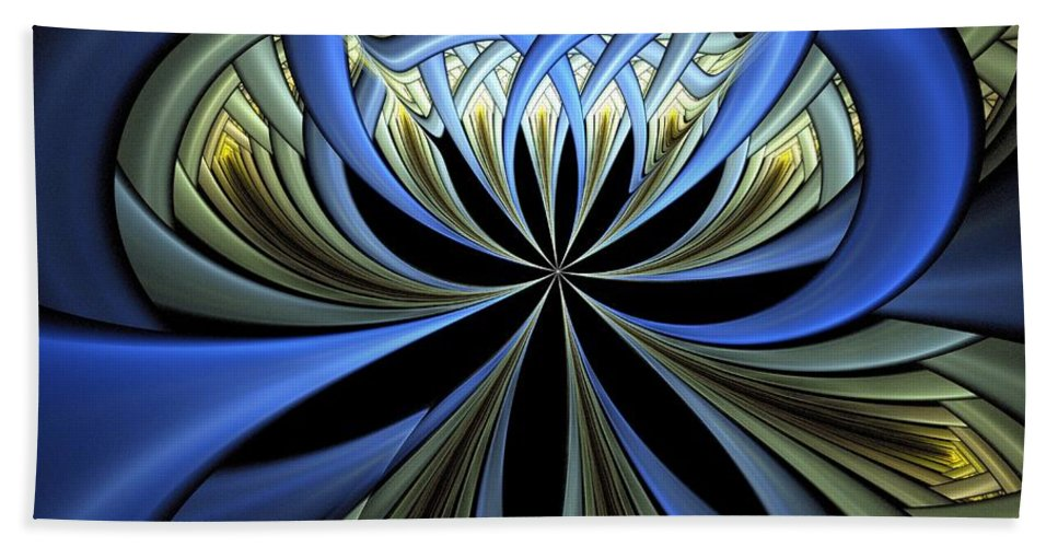 Digital Art Beach Towel featuring the digital art Embedded by Amanda Moore