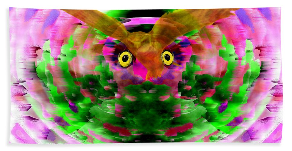 Embrace Beach Towel featuring the digital art Embrace The Wind by Seth Weaver