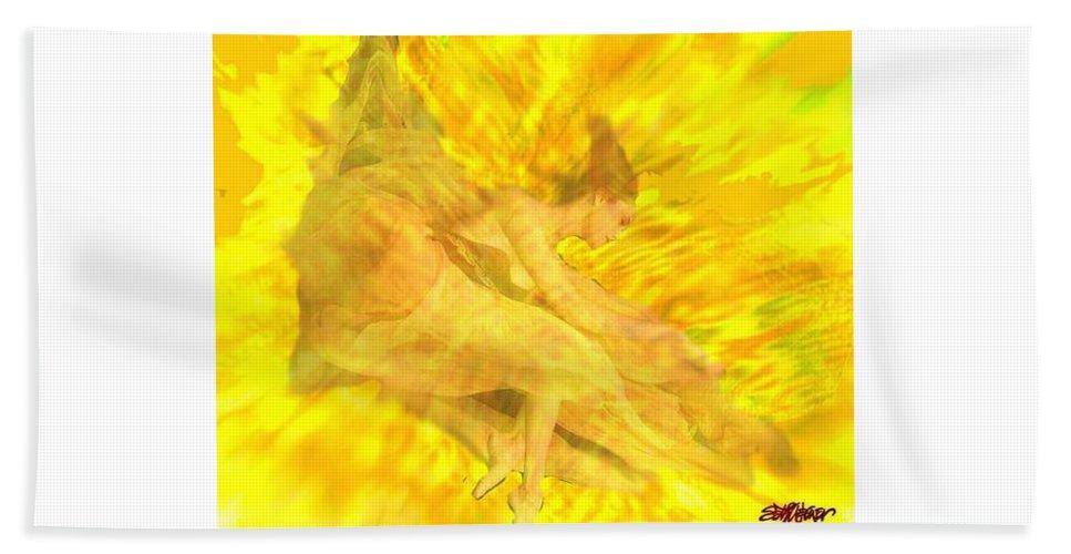 Joy Beach Towel featuring the digital art Endless Joy by Seth Weaver
