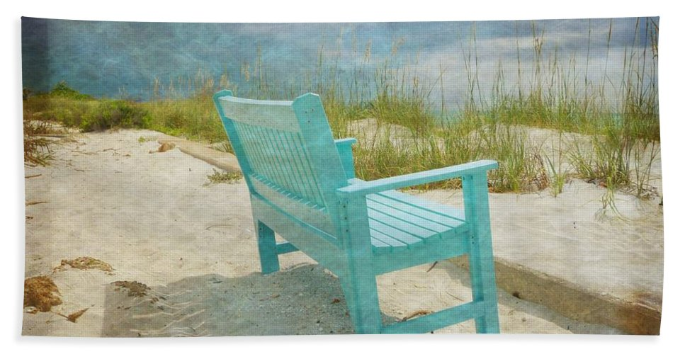 Cindy Rose Photography Beach Towel featuring the photograph Enjoy The View by Cindy Rose