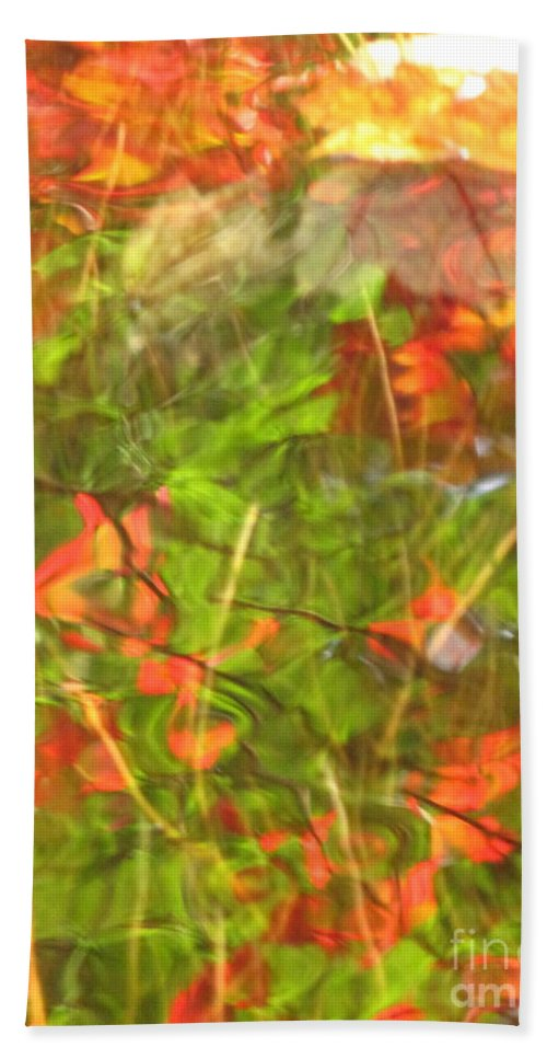 Abstract Beach Towel featuring the photograph Entangled Adrift by Sybil Staples