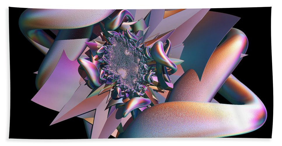 Star Beach Towel featuring the digital art Entrapped by Sara Raber