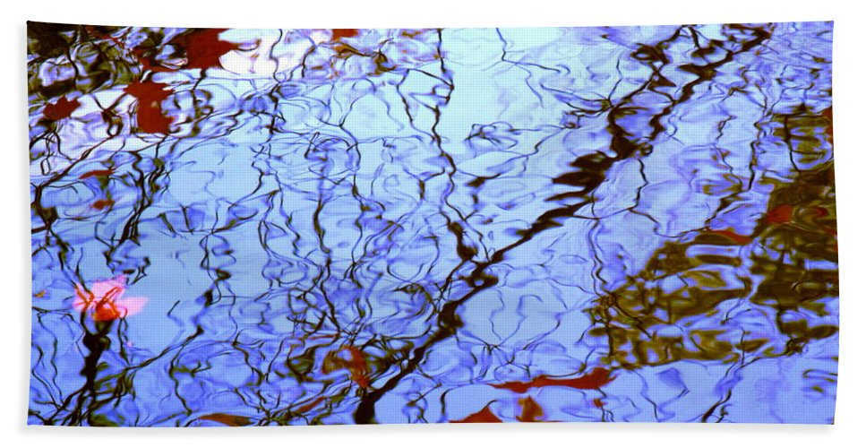 Water Art Beach Towel featuring the photograph Envisioned Flow by Sybil Staples