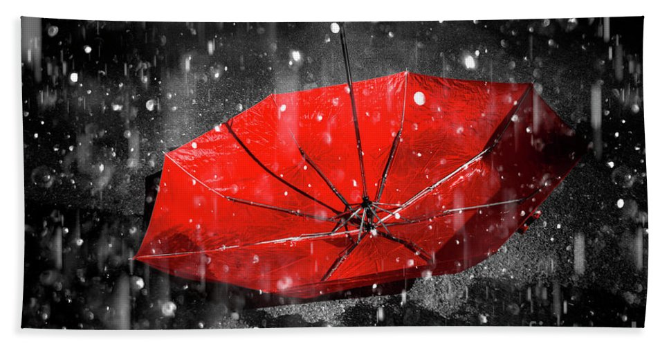 Red Beach Towel featuring the photograph Epiphany by Jorgo Photography - Wall Art Gallery