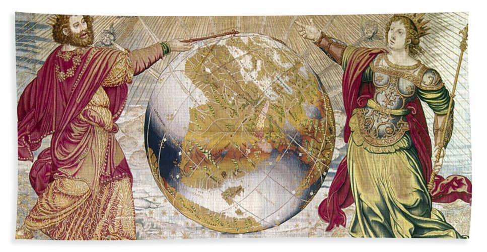 16th Century Beach Towel featuring the photograph Escorial: Tapestry by Granger