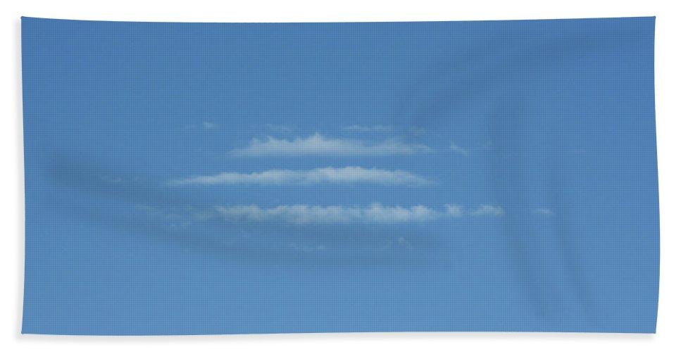 Sky Beach Towel featuring the photograph etc by Ric Bascobert