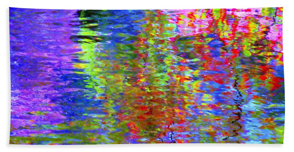 Abstract Beach Towel featuring the photograph Every Act Of Love by Sybil Staples