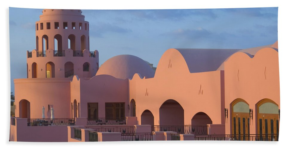 Culture Beach Towel featuring the photograph Fantasy Castle by Ilan Rosen