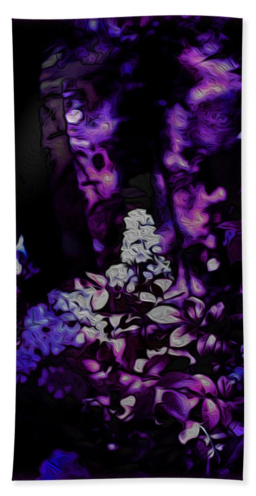 Surreal Landscape Beach Towel featuring the photograph Fantasy Forest by Mykel Davis