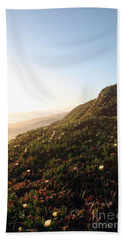 california Coast Beach Towel featuring the photograph Feels Like Home by Amanda Barcon