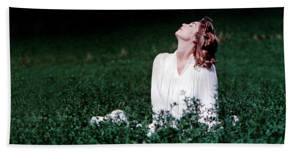 Woman Beach Towel featuring the photograph Field Of Dreams by D'Arcy Evans