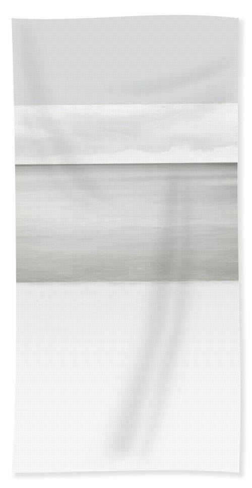 Horizon Beach Towel featuring the photograph Fierce Calm by Scott Norris