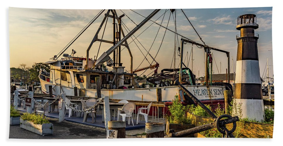 Fish Beach Towel featuring the photograph Fish Market by Sean Mills