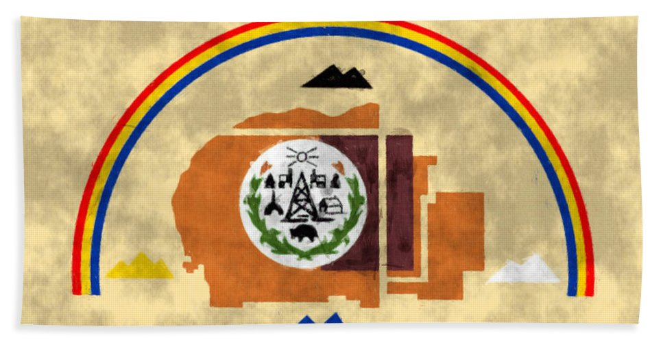 Flag Of Navajo Nation Beach Towel For Sale By World Art Prints And Designs