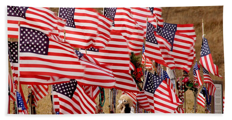 9/11 Beach Towel featuring the photograph Flight 93 by Jean Macaluso