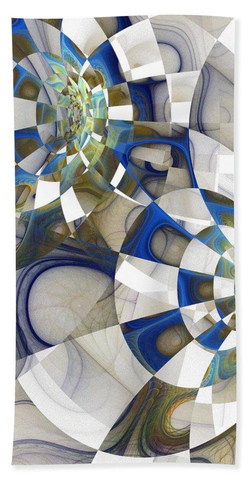 Digital Art Beach Sheet featuring the digital art Flight by Amanda Moore