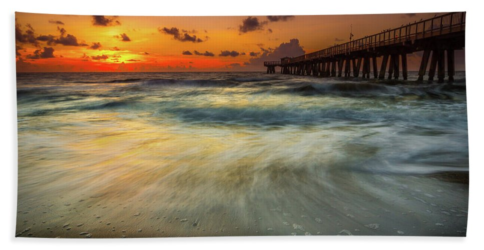Amaizing Beach Towel featuring the photograph Florida Breeze by Edgars Erglis