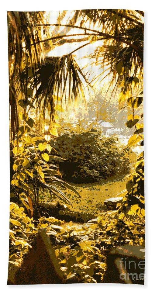 Sunlight Beach Towel featuring the photograph Florida Dream by Carol Groenen