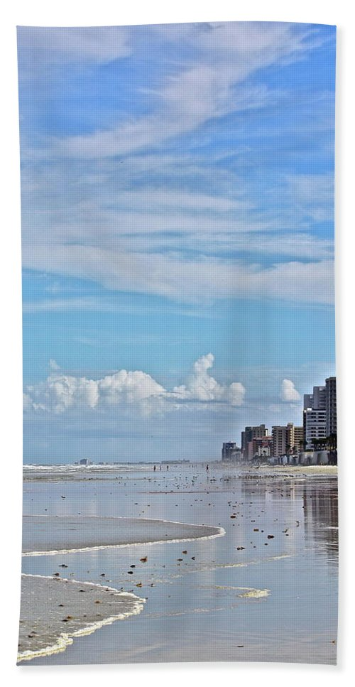 Beach Beach Towel featuring the photograph Florida Fun by Diana Hatcher