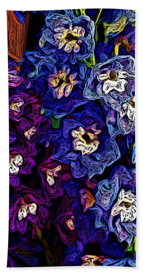 Digital Photo Beach Sheet featuring the photograph Flower Arrangement II by David Lane