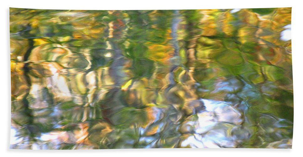 Water Art Beach Towel featuring the photograph Fluctuations by Sybil Staples