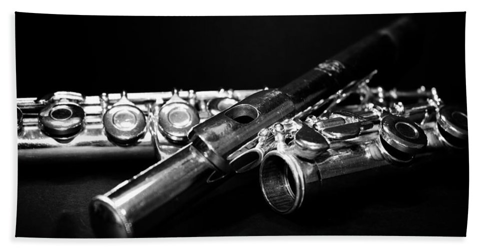 Lauren Radke Beach Towel featuring the photograph Flute Series I by Lauren Radke