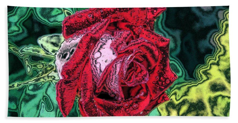 Rose Beach Towel featuring the photograph Foiled Again by Kristin Elmquist