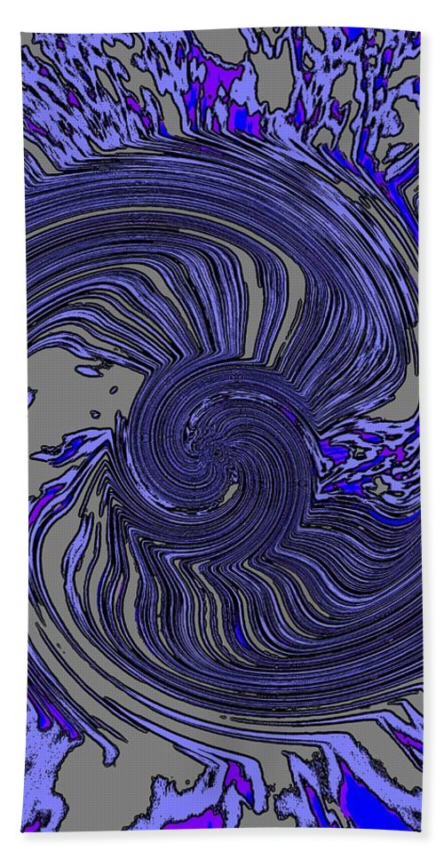 Force Beach Towel featuring the digital art Force Of Nature by Tim Allen