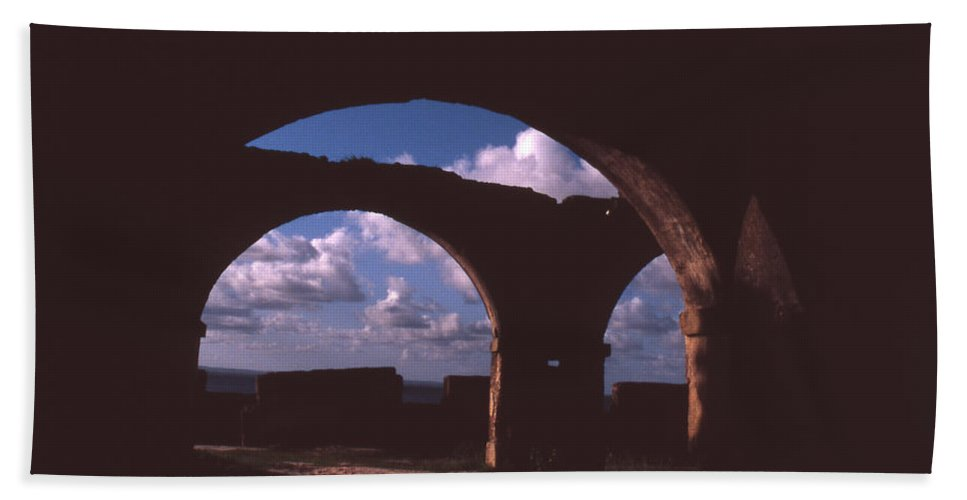 Bahia Beach Sheet featuring the photograph Fortaleza De Morro De Sao Paulo by Patrick Klauss