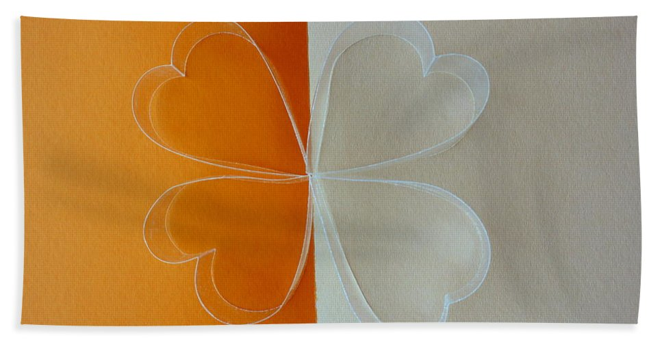 Icon Beach Towel featuring the photograph Four Leaf Clover by Isabel Sala Casteras